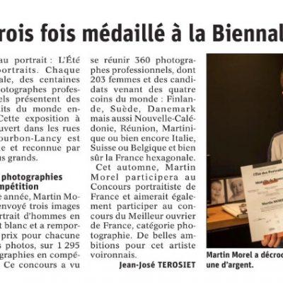 article-presse-photographe-voiron-ete-portraits